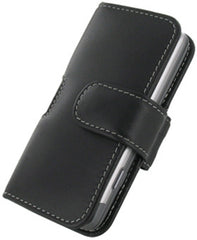 T-Mobile G2 Monaco Horizontal Pouch Type Leather Case - Black
