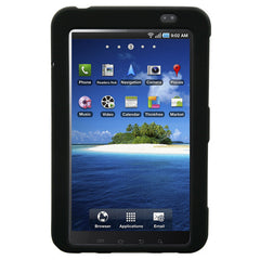 Rubberized SnapOn Black Cover for Samsung Galaxy Tablet i800