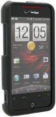 HTC Droid Incredible Rubberized Phone Protector Case with Optional Belt Clip