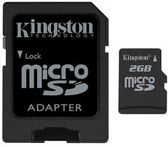 Kingston 2GB MicroSD Card - Original (OEM) SDC/2GB