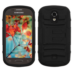 Samsung Galaxy Light hybrid Survivor case with Kickstand-Colors available
