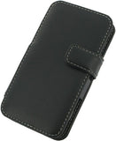 HTC EVO 4G LTE Monaco Book Type Leather Case - Black