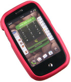 Palm Pre Plus Rubberized Phone Protector Case with Optional Belt Clip