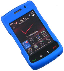 BlackBerry Storm 2 9550 Rubberized Phone Protector Case with Optional Belt Clip