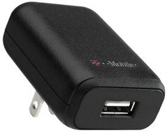 T-Mobile Sony Ericsson Travel Charger with USB Connector Adapter - T-Mobile Original 31428TMR