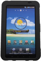 Samsung Galaxy Tab Rubberized Protector Case - Black