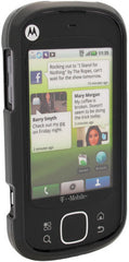 Motorola CLIQ XT Phone Protector Case with Optional Belt Clip