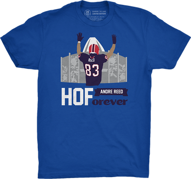 "Buffalo Vol. 1, Shirt 10: ""Andre Reed: HOForever"""