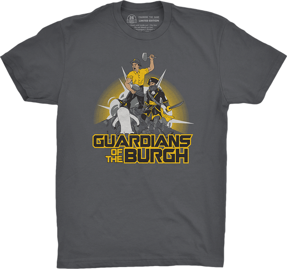 "Pittsburgh Vol. 3, Shirt 16: ""Guardians of the Burgh"""