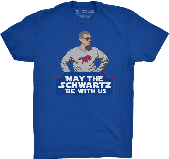 "Buffalo Vol. 1, Shirt 8: ""May the Schwartz Be With Us"""