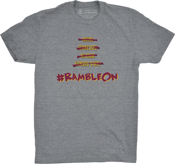 "Chicago Vol. 4, Shirt 8: ""#RambleOn"""