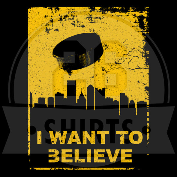 "Pittsburgh Vol. 3, Shirt 18: ""I Want to 3elieve"""