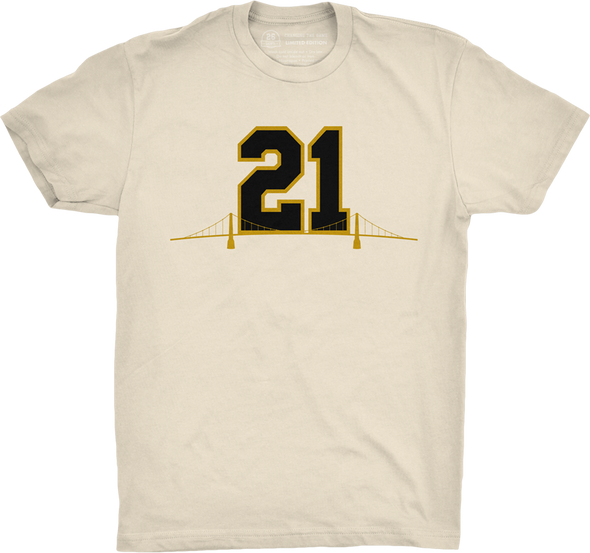 "Pittsburgh Vol. 3, Shirt 1: ""Remember 21"""