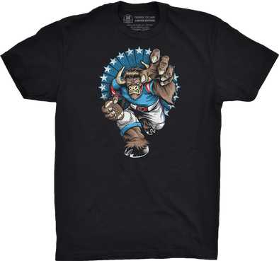 "Buffalo Vol. 1, Shirt 5: ""Buffalo Minotaur"""