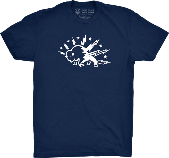 "Buffalo Vol. 5, Shirt 7: ""Charged"" (Midnight Navy)"