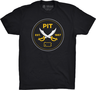 "Pittsburgh Vol. 3, Shirt 20: ""1887 Cutlass"""