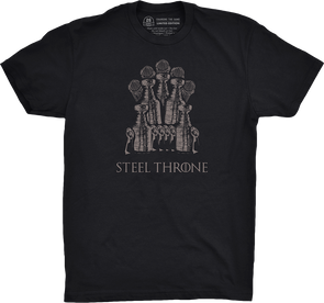 "Pittsburgh Vol. 3, Shirt 22: ""Steel Throne"""