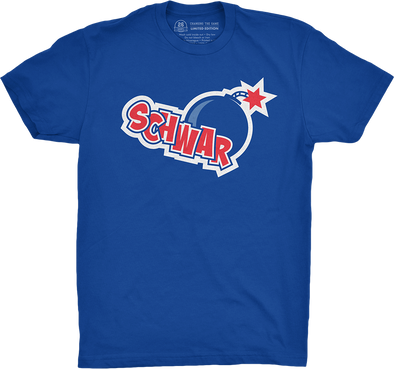 "Chicago Vol. 4, Shirt 16: ""Schwar-bomb"""