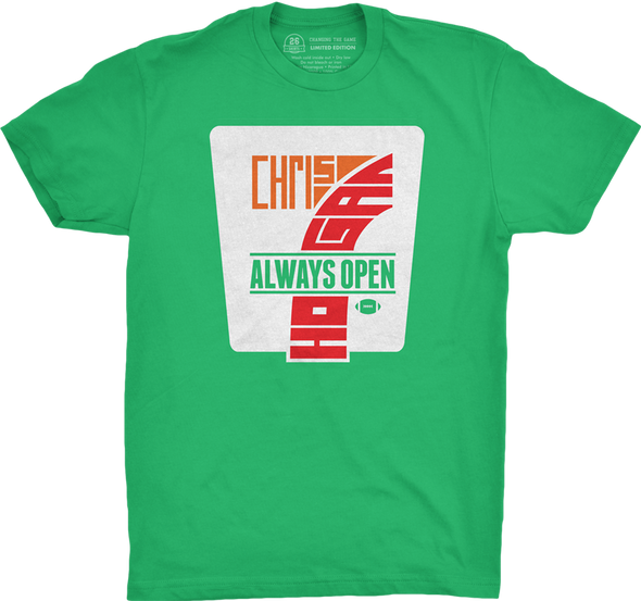 "Buffalo Vol. 2, Shirt 14: ""Always Open"""