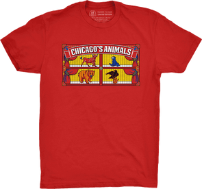 "Chicago Vol. 4, Shirt 6: ""Chicago's Animals"""