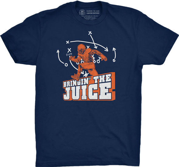 "Chicago Vol. 2, Shirt 10: ""Bringin' the Juice"""
