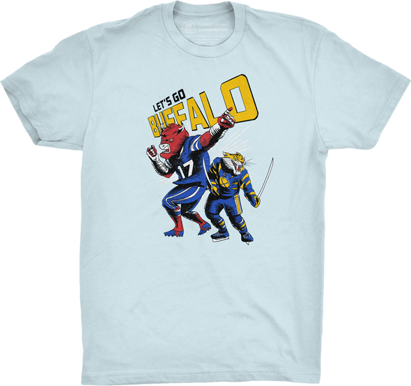 "Buffalo Vol. 4, Shirt 19: ""Buffalo Comic"""