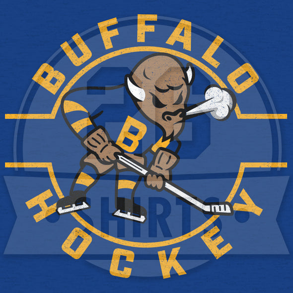 "Buffalo Vol. 6, Shirt 2: ""Bison Hockey"""