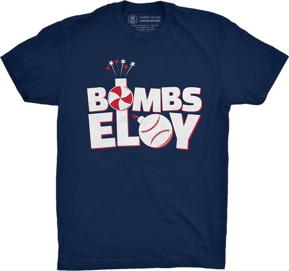 "Chicago Vol. 5, Shirt 8: ""Bombs Eloy"""