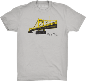 "Pittsburgh Vol. 2, Shirt 8: ""Bridges"""