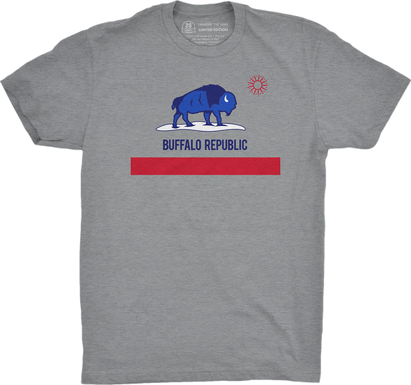 "Buffalo Vol. 5, Shirt 8: ""Buffalo Republic"""