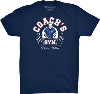 "Buffalo Vol. 4, Shirt 13: ""Coach's Gym"""