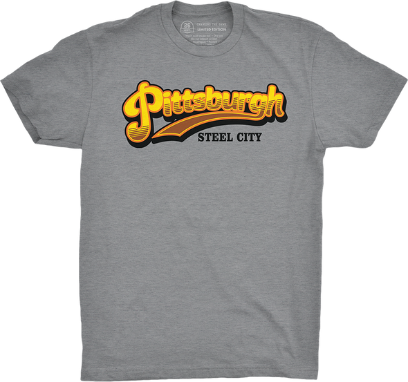 "Pittsburgh Vol. 4, Shirt 21: ""Cheers to the Steel City"""