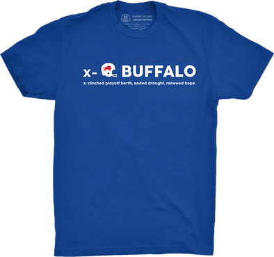 "Buffalo Vol. 5, Shirt 5: ""Clinched"""