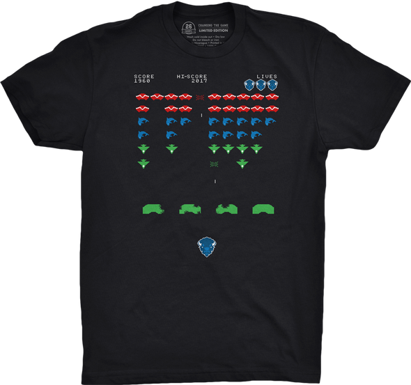 "Buffalo Vol. 4, Shirt 7: ""Division Invaders"""