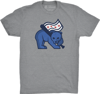 "Chicago Vol. 3, Shirt 11: ""Flag Bear-er"""