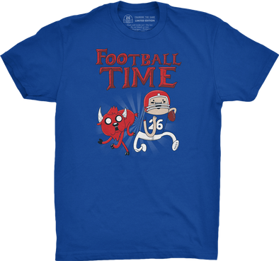 "Buffalo Vol. 2, Shirt 22: ""Football Time"""