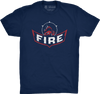 "Chicago Vol. 3, Shirt 22: ""Fire"""