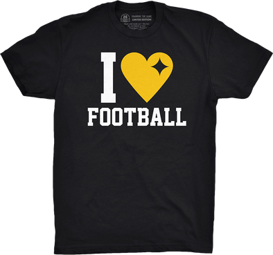 "Pittsburgh Vol. 5, Shirt 6: ""I Heart Football"""
