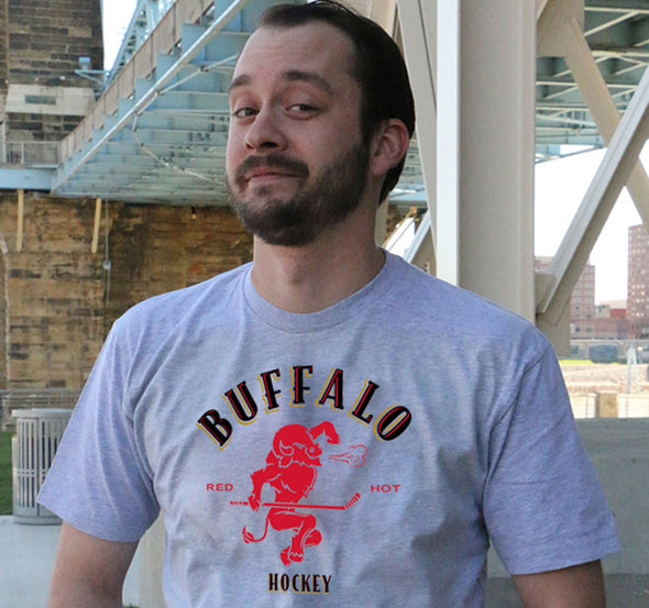 "Buffalo Vol. 6, Shirt 8: ""Red Hot Hockey"""