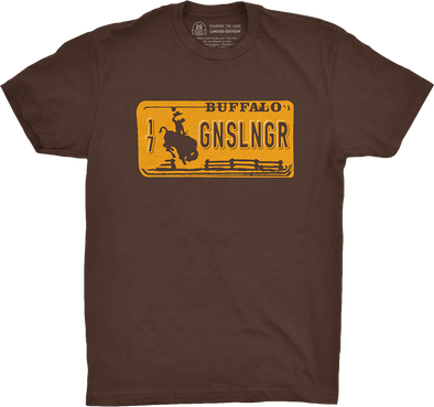 "Buffalo Vol. 5, Shirt 21: ""Gunslinger"""