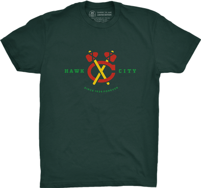 "Chicago Vol. 1, Shirt 13: ""Hawk City"""