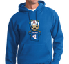 Sweatshirt Hoody, Royal (50% cotton, 505 polyester)
