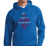 Sweatshirt Hoody, Royal (50% cotton, 50% polyetser)