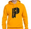 Sweatshirt Hoody, Gold (50% cotton, 50% polyester)