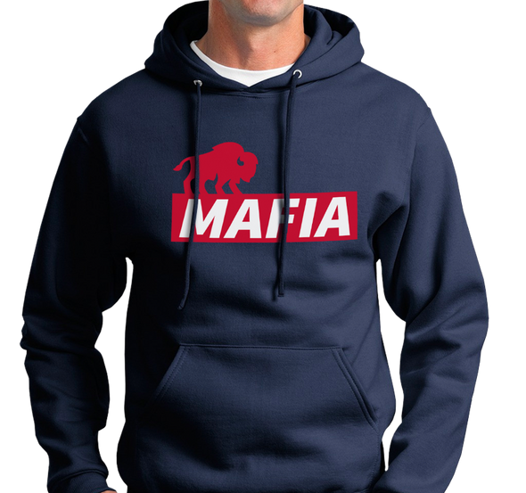 Sweatshirt Hoody, Navy (50% cotton, 50% polyester) Also available in Royal