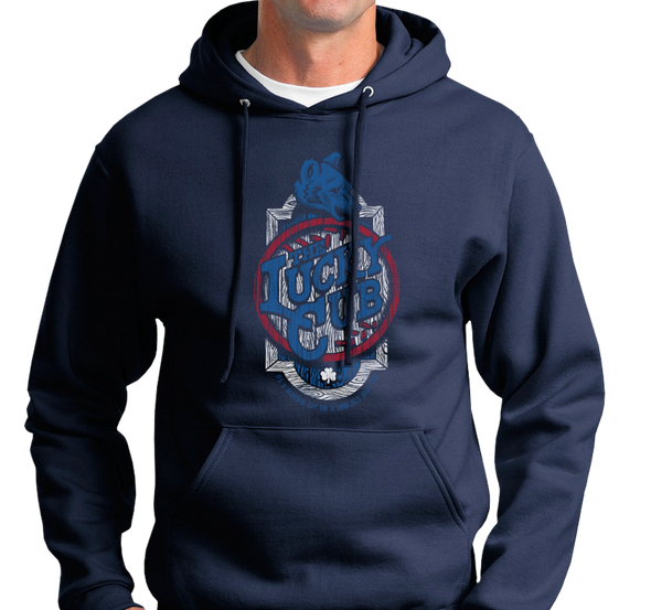 Sweatshirt Hoody, Navy (50% cotton, 50% polyester)