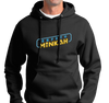 Sweatshirt Hoody, Black (50% cotton, 50% polyester)