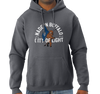Sweatshirt Hoody, Black Heather (50% cotton, 50% polyester)