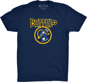 "Buffalo Vol. 6, Shirt 7: ""H-E-Double Hockey Sticks"""