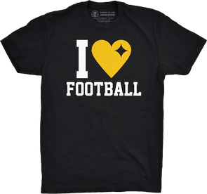 "Limited Availability: ""I Heart Pittsburgh Football"""